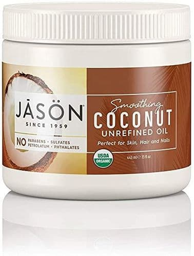 Jasons Natural Organic Coconut Oil For Skin/Hair/Nails